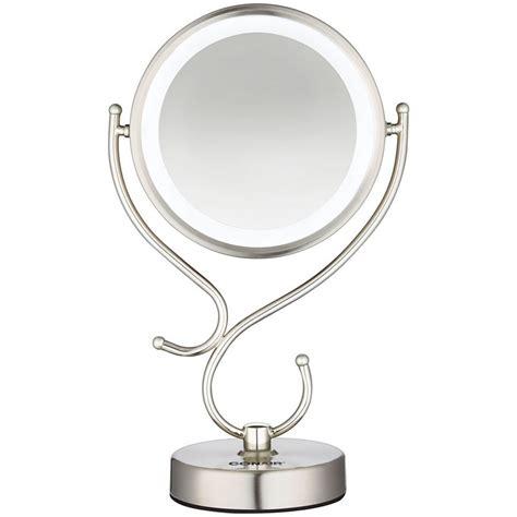 conair makeup mirror light bulb conair cbe127a sided led lighted light mirror