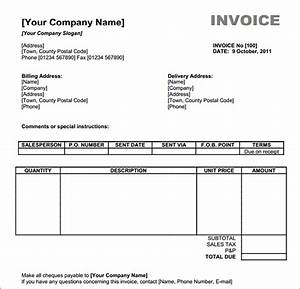 free invoices template invitation template With invoice to print