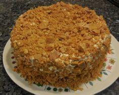 Blum's coffee crunch cake (januari 2021). Blum's Coffee Crunch Cake Recipe | Coffee crunch cake recipe, Cake recipes, Desserts
