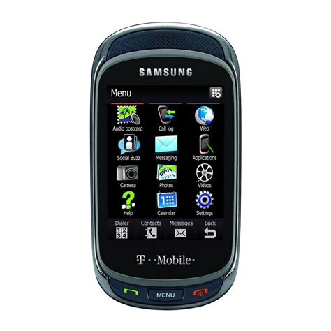 team mobile phones samsung t669 gravity touch qwerty keyboard t mobile