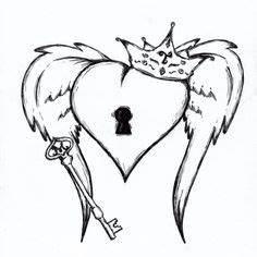 1000 idees sur tatouages de coeur a cle sur pinterest With idee de decoration de jardin 17 40 idees de modale de tatouage 224 motifs differents gratuit