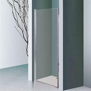 Refrigerateur 80 Cm De Large : porte de douche pivotante dylane sans cadre 80 cm 6mm ~ Dailycaller-alerts.com Idées de Décoration