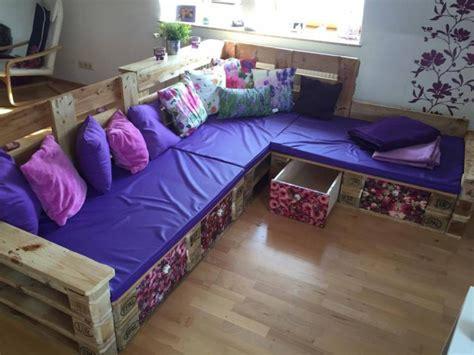 creative ideas   cozy pallet corner sofa