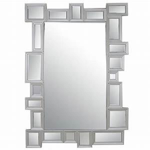 Miroir Rectangulaire Mural : miroir multicadres venio ~ Teatrodelosmanantiales.com Idées de Décoration
