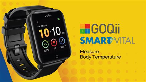 GOQii Smart Vital Watch Price, Specifications, Features