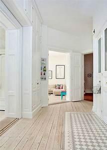 le parquet blanchi pour une deco 100 scandinave marie With parquet scandinave