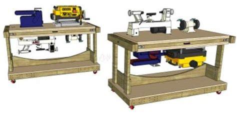 flip top workstation  woodworking plans