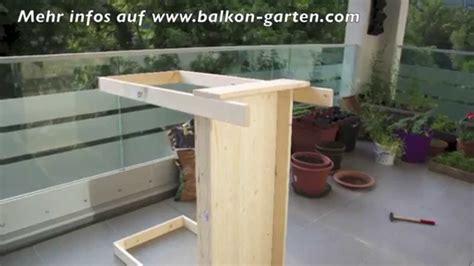 überdachung balkon selber bauen hochbeet selber bauen meine balkon garten tipps