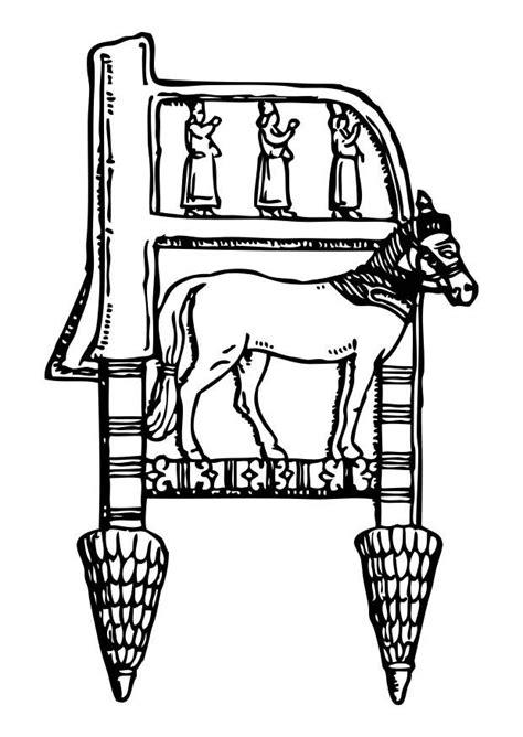 Stoel Kleurplaat by Kleurplaat Assyrische Stoel Afb 17314 Images