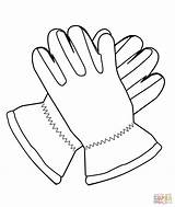 Coloring Pages Gloves Nike Shoes Clothes Clipart Printable Kd Drawing Shoe sketch template