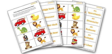 Kids Games- Cutting, Sorting And Naming Common Objects