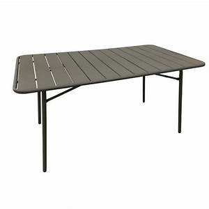 Table Basse Foir Fouille. stunning table de jardin ronde la foir ...