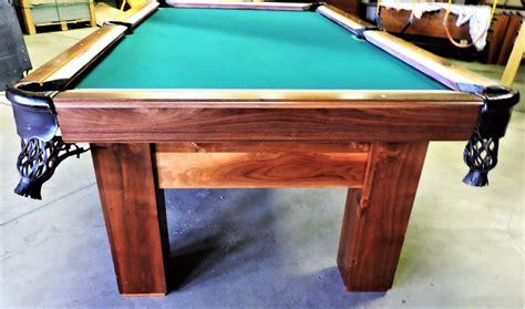 tcnaz solid walnut cooper billiard table