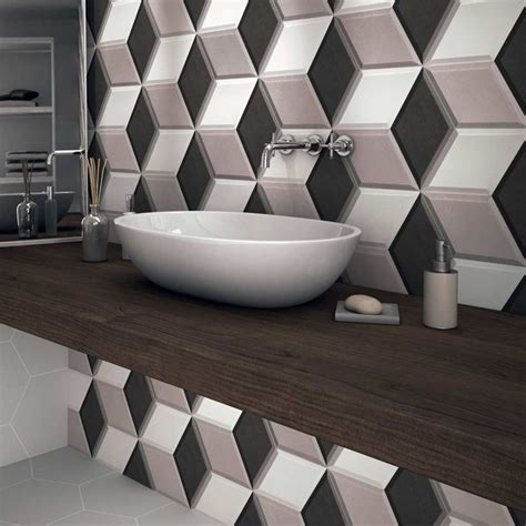 3d Tiles by 17 Best Ideas About Bathroom Splashback On Pinterest
