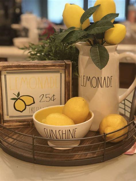 lemonade  rae dunn beautiful piece beautiful