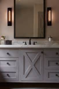 Restoration Hardware Bathroom Vanities And Cabinets by 25 Best Ideas About Grey Bathroom Cabinets On Pinterest