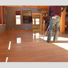 Recoating A Previously Finished Floor  Hardwood Floors