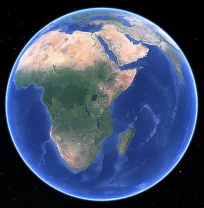 Earth Google Africa Lake Blogs Shaped Agu