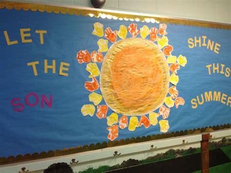 great summer bulletin board at christian preschool using 785 | 604f6e997817d6c9915b97f8da9761d7