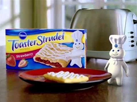 Toaster Strudel In The Oven - pillsbury toaster strudel commercial with totino s pizza