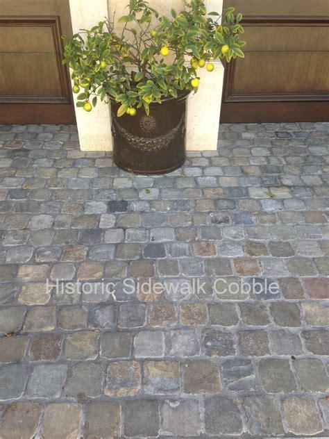foot friendly antique cobblestone pavers