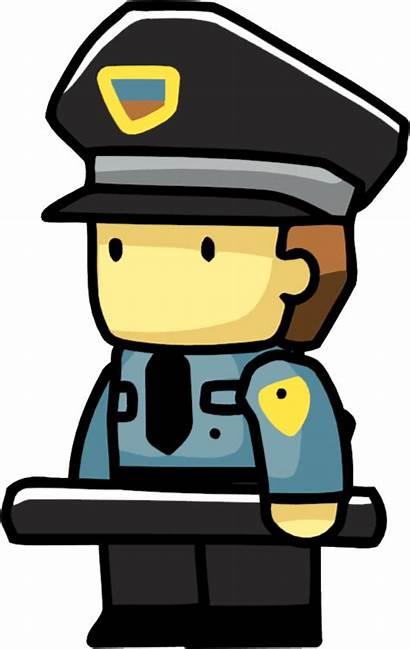 Clipart Guard Security Jail Scribblenauts Transparent Jailer