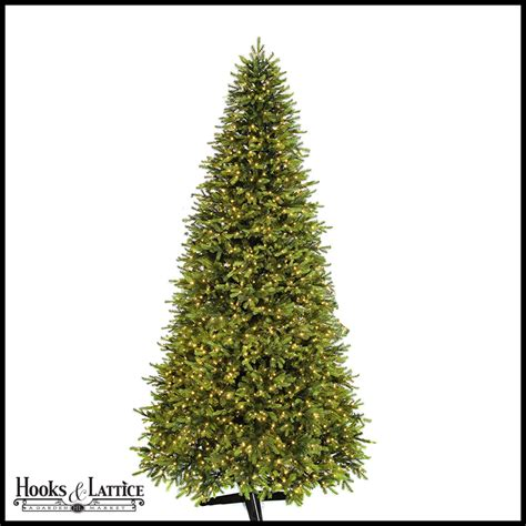 11 ft mountain pre lit fir artificial christmas tree w