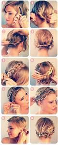 Accessoires Cheveux Courts : coiffure c r monie pour cheveux courts ~ Preciouscoupons.com Idées de Décoration