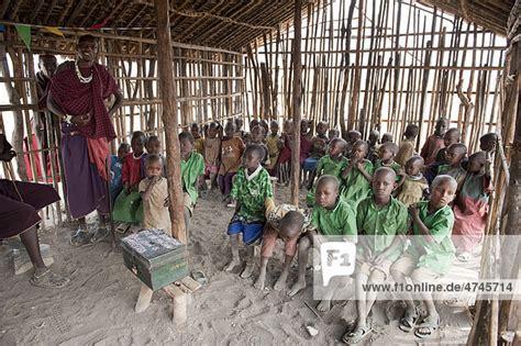 Afrika, Dorf Kiloki, Ethnologie, Kinder in Grundschule