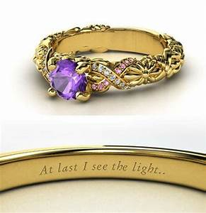 rings inspired by disney princesses incredible things With disney princess wedding rings