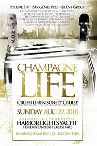 Champagne Life Sunset Cruise Harbor Lights Sunday