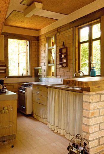 cozinha na cidade estilo de sitio  moveis rusticos cocinas rusticas decoracion de cocinas