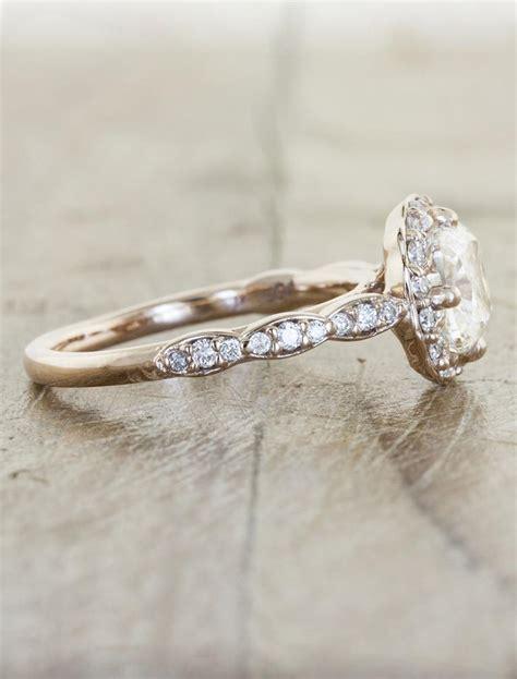 ritu delicate cushion cut diamond engagement ring ken
