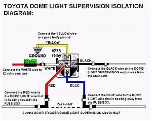 12 Volt Dome Light Wiring Diagram
