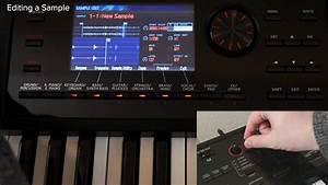"""""""Editing a Sample"""" Roland FA-06/FA-07/FA-08 #19 - YouTube"""