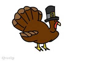 Thanksgiving Turkey Cartoon Drawing