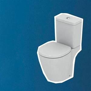 Peinture WC : les bonnes couleurs, bleu, gris Côté Maison