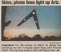 Image result for phoenix lights drawing triangle