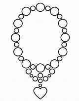 Coloring Necklace Jewelry Printable Colouring Sheknows Jewellery Pearl Sheets Heart Activity Dream Jewel Printables Visit Intricate Necklaces Result Colour Popular sketch template