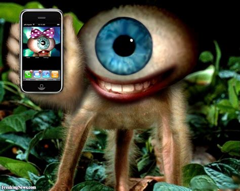 eye phone creature pictures