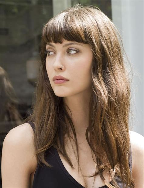 Hairstyles For With Fringe by 100 Inspiration Hairstyles With Bangs For