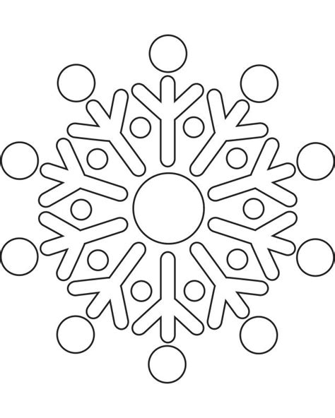printable snowflake template printable snowflake pictures