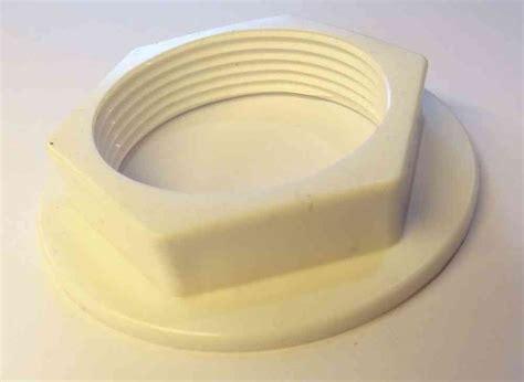 """1 1/2"""" BSP Flanged Plastic Back Nut   Stevenson Plumbing"""