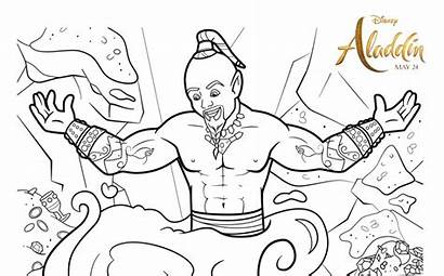 Aladdin Coloring Printable Pages Activities Bananas Sunflower
