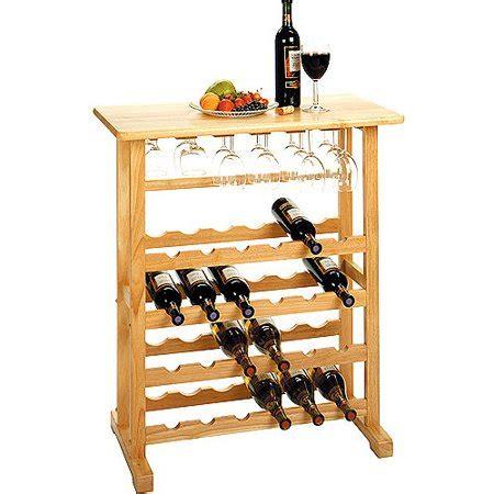 walmart wine rack vinny 24 bottle wine rack finishes walmart