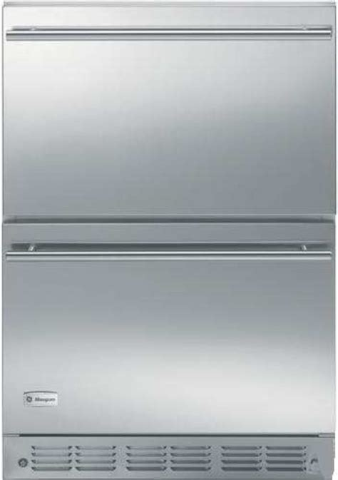 ge monogram zidshss compact refrigerator storage drawers monogram appliances