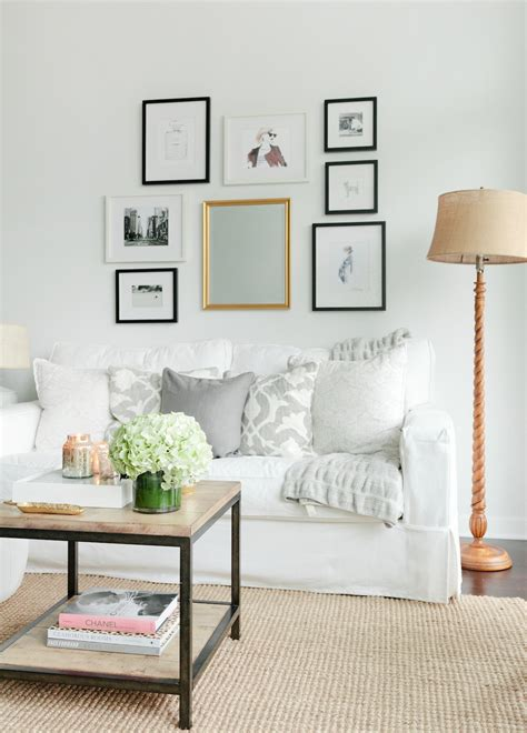 Get The Look For Less Cozy + Minimalist Living Room The