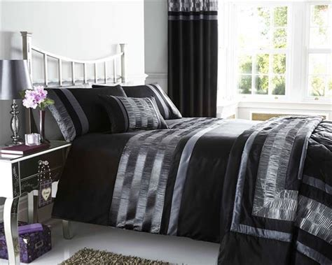 Bedspreads And Drapes - new pintuck duvet cover sets cushions matching lined