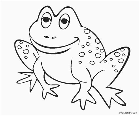 Coloring Frogs by Free Printable Frog Coloring Pages For Cool2bkids