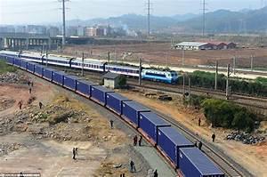 World's longest train journey along the new Silk Road[1 ...